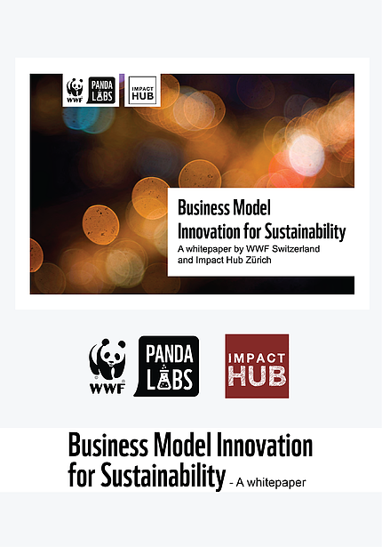 WWF Panda Labs Business Model Innovation