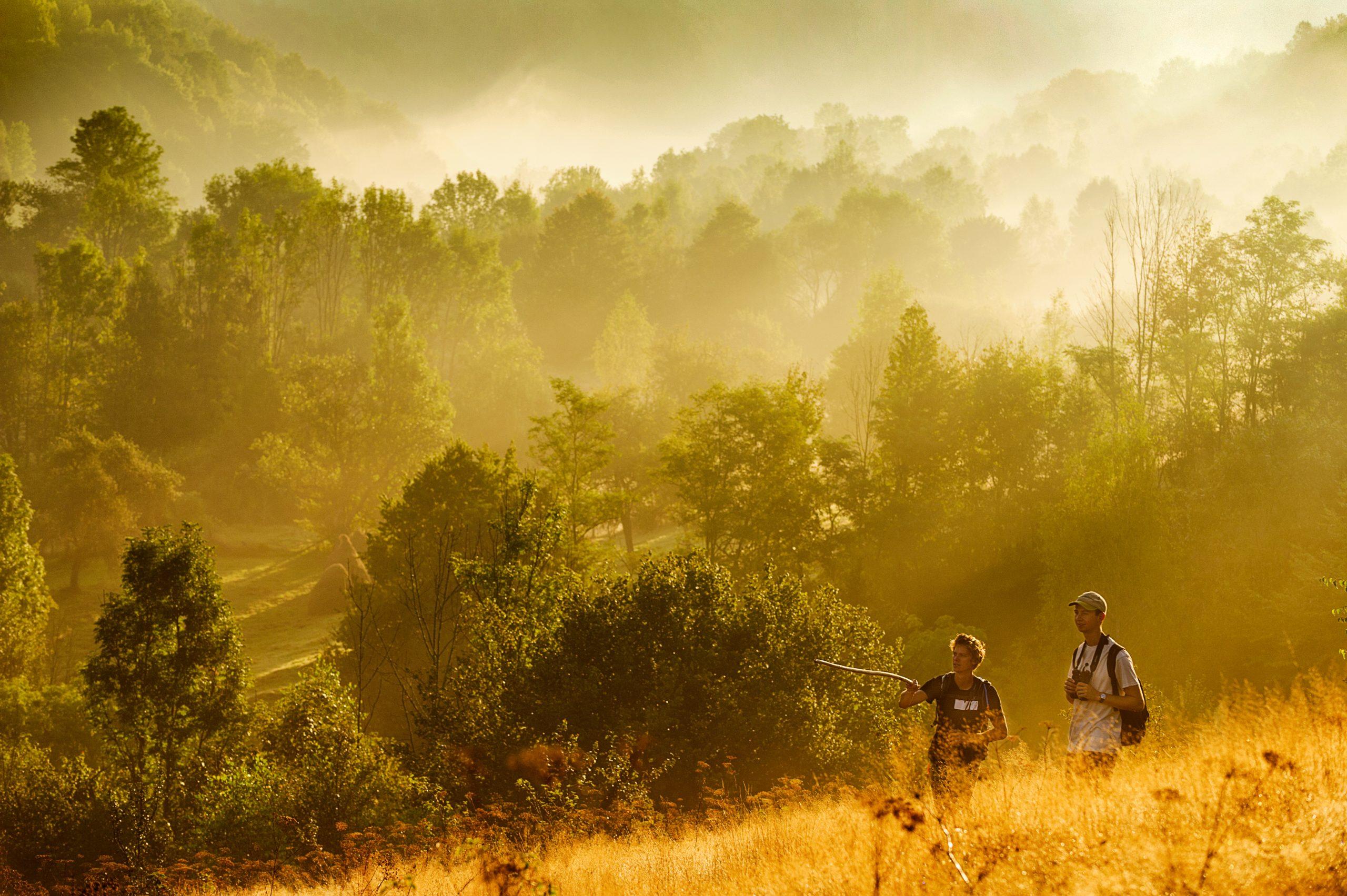 Turiști în Măgura Zimbrilor ©Bogdan Comanescu