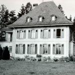 """""""Les Uttins"""" în Morges (VD), Switzerland. Primul sediu WWF International între 1961 și 1970."""